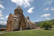 Gandzasar's Cathedral of St. John the Baptist from north-west.
