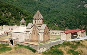 The Gandzasar Monastery from south-east.