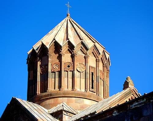 Evolution of gandzasar s architectural forms for Architecture upbrella