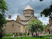 The Kecharis Monastery in the Province of Kotayk the Republic of Armenia.