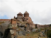 The Harichavank Monastery in the Province of Shirak, Republic of Armenia.